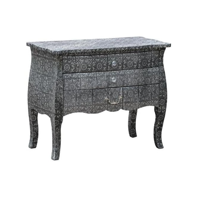 Chaandhi Kar Embossed Chest