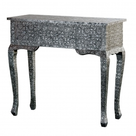 Chaandhi Kar Embossed Console Table