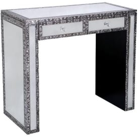 Chaandhi Kar Mirrored Console Table