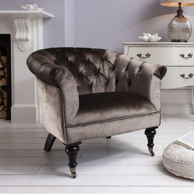 Chalon Velvet Chair