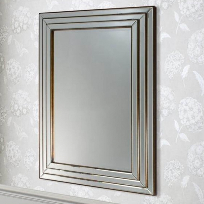 Chamberry Bronze Wall Mirror