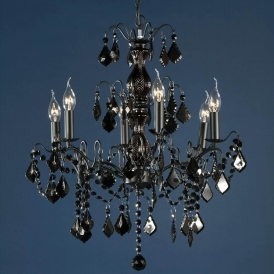 Charlotte Black Antique French Style Chandelier