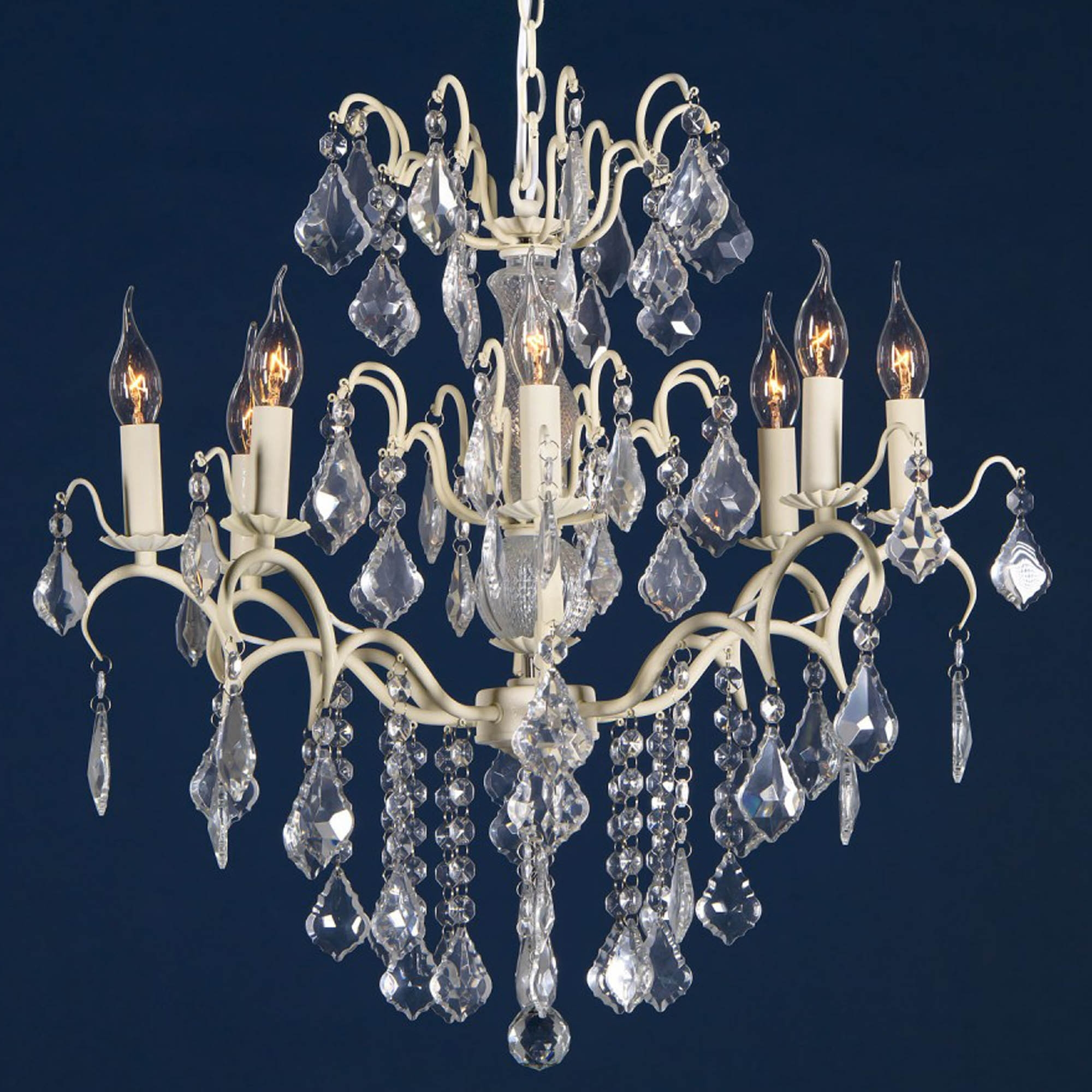 Charlotte cream crack antique french style chandelier chandeliers charlotte cream crack antique french style chandelier arubaitofo Choice Image