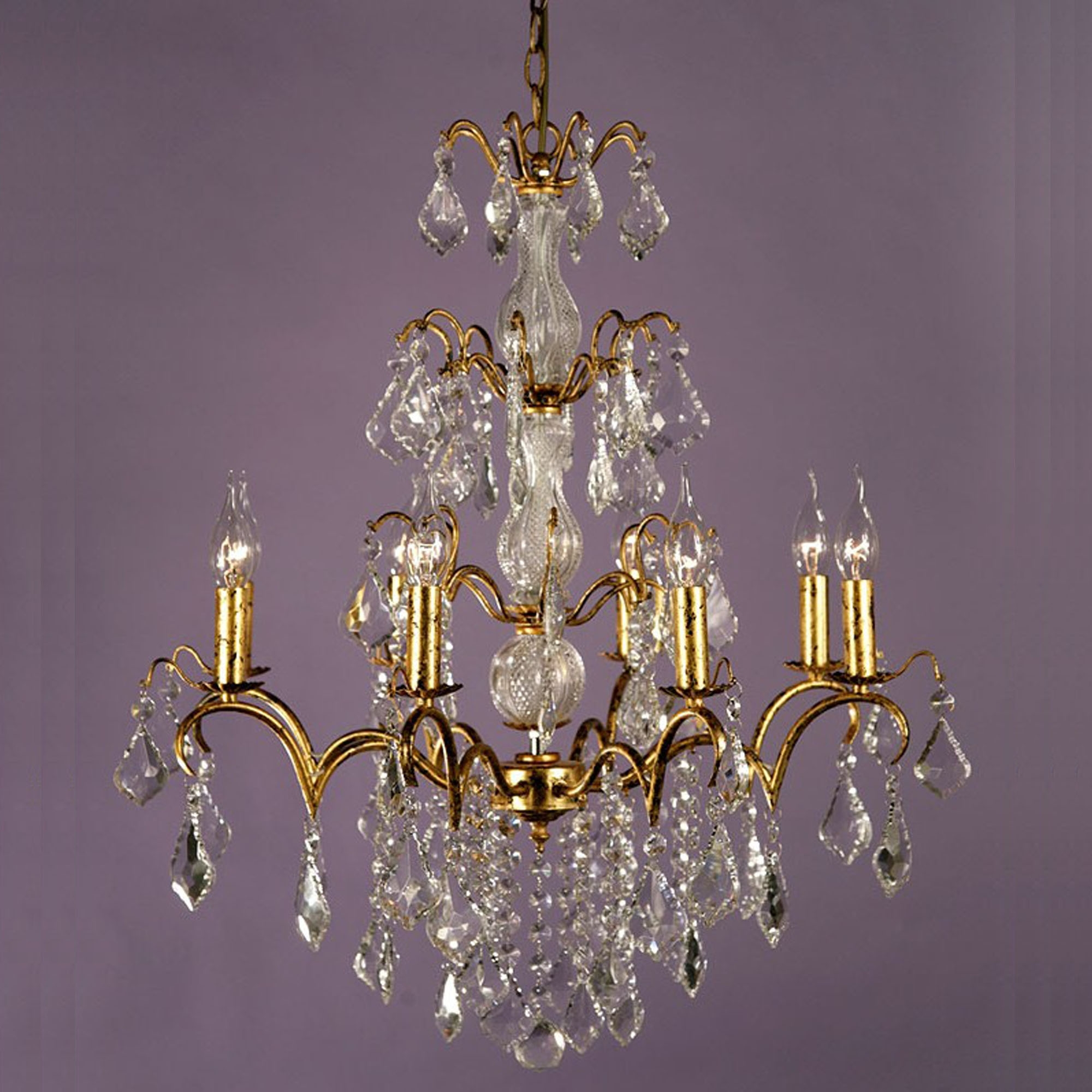 Charlotte Vintage Gold Antique French Style Chandelier