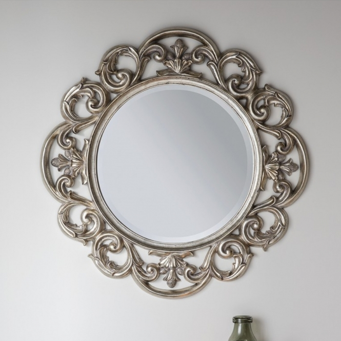 Chartwell Silver Wall Mirror