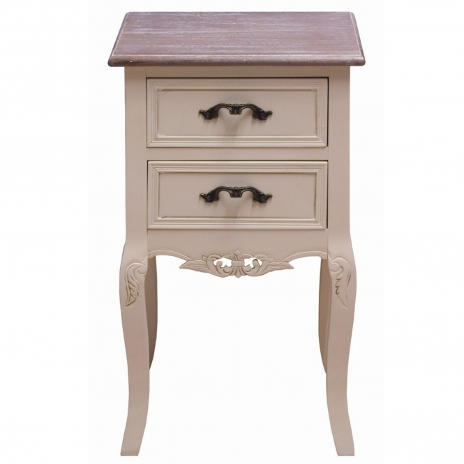 Chateau Antique French Style Bedside Cabinet