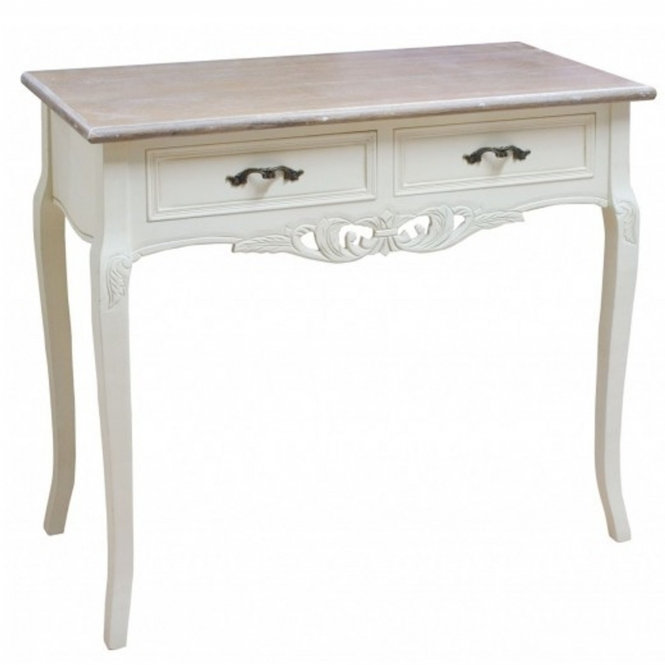 Chateau Antique French Style Console Table