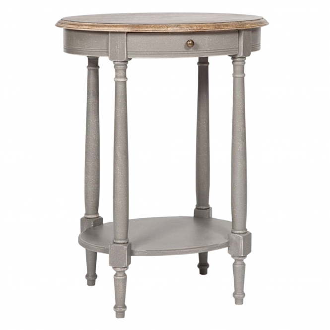 Chateau Grey Shabby Chic Side Table