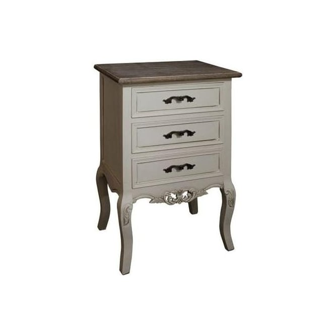 Chateau Shabby Chic Bedside Cabinet