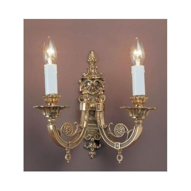 Chelsea Brass Antique French Style Wall Light