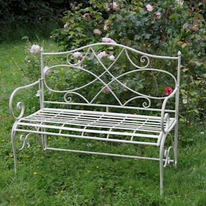 Cheltenham Antique French Style Outdoor Bench