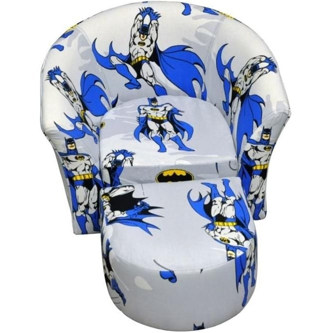 Children's Batman Tub Chair & Stool