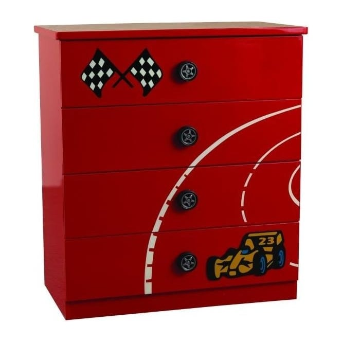 Children's Red Formula Chest