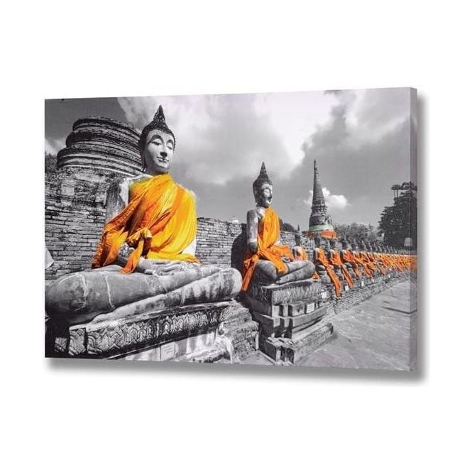 Chinese Buddha Canvas
