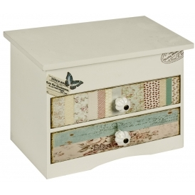 Chloe Shabby Chic Jewellery Box