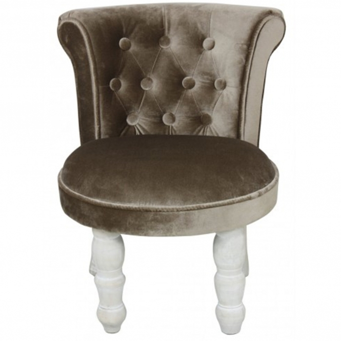 Chocolate Florence Upholstered Chair