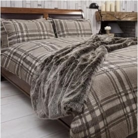 Chocolate Wolf Bed Runner