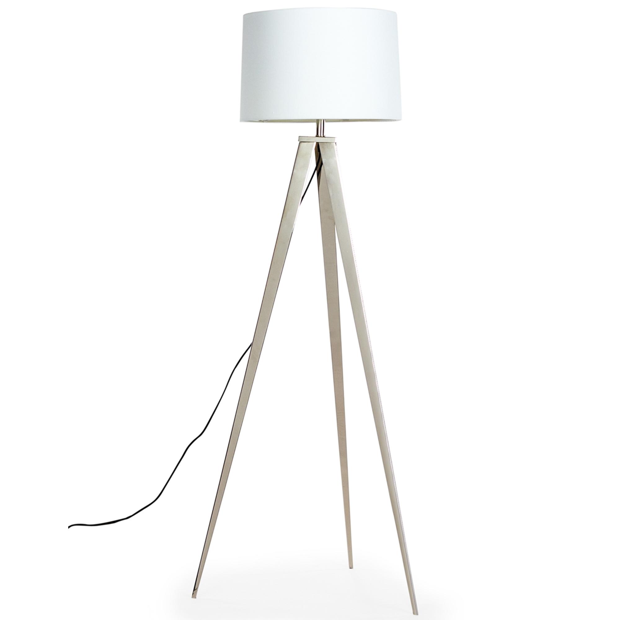 the best attitude e3200 efad7 Chrome Arrow Tripod Floor Lamp