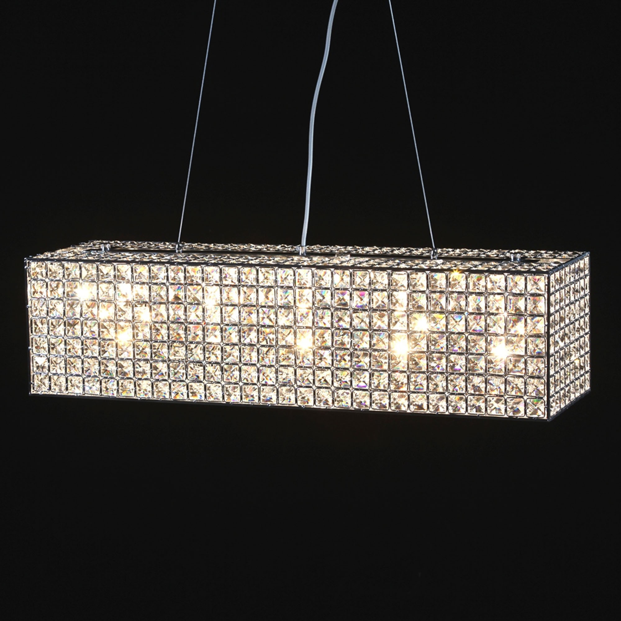 mixed lighting relax a in dining linear the contemporary for new and fits room furniture classy luxorious with design chandelier theme cabinet elegant