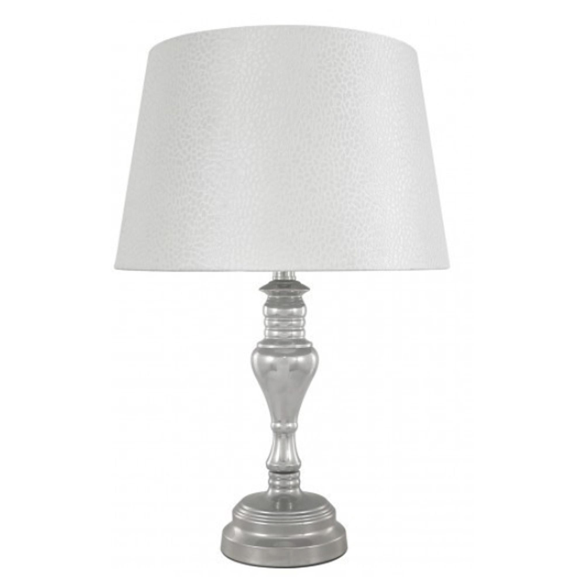 Chrome Modern Table Lamp