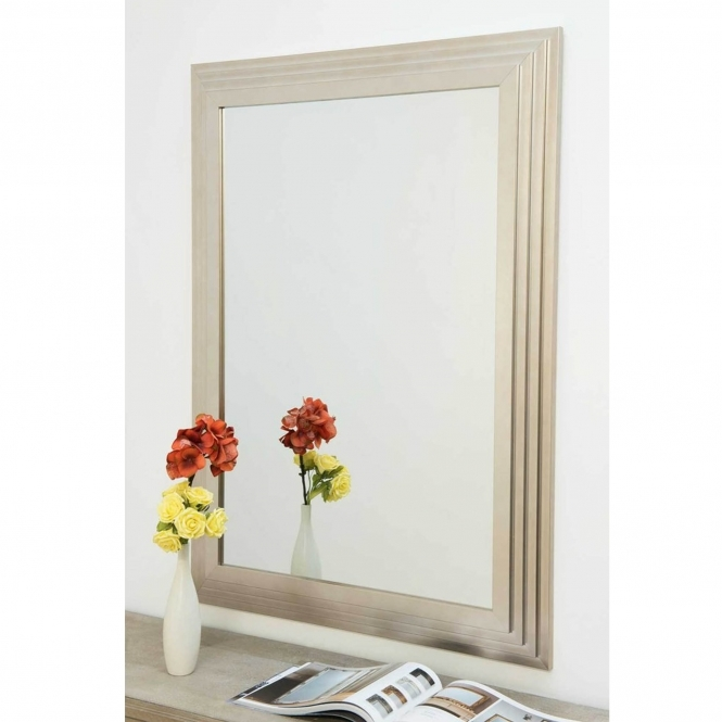 Chrysler Decorative Silver Wall Mirror
