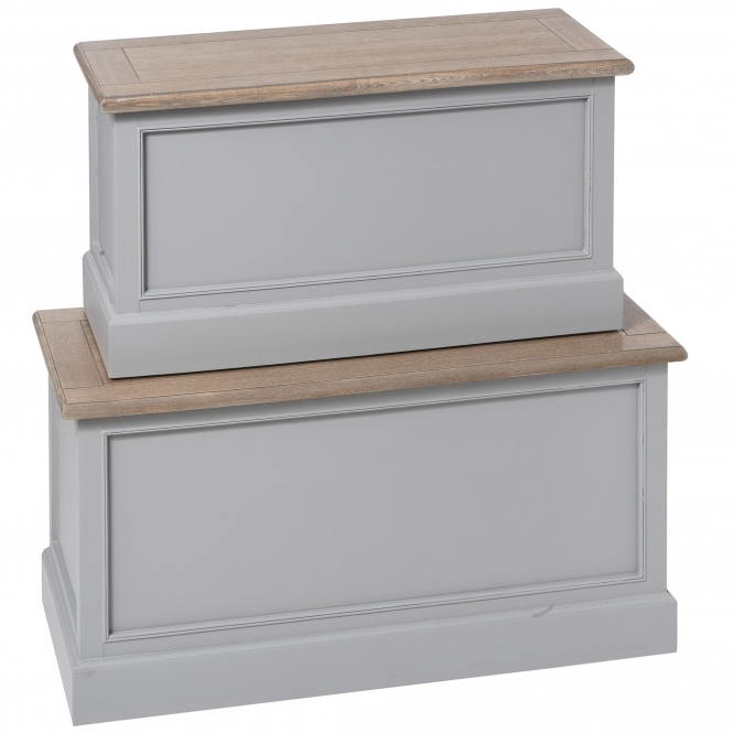 Churchill Shabby Chic Blanket Boxes