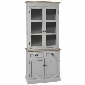 Churchill Shabby Chic Display Cabinet