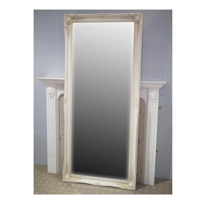 Classic Antique French Style Cheval Mirror