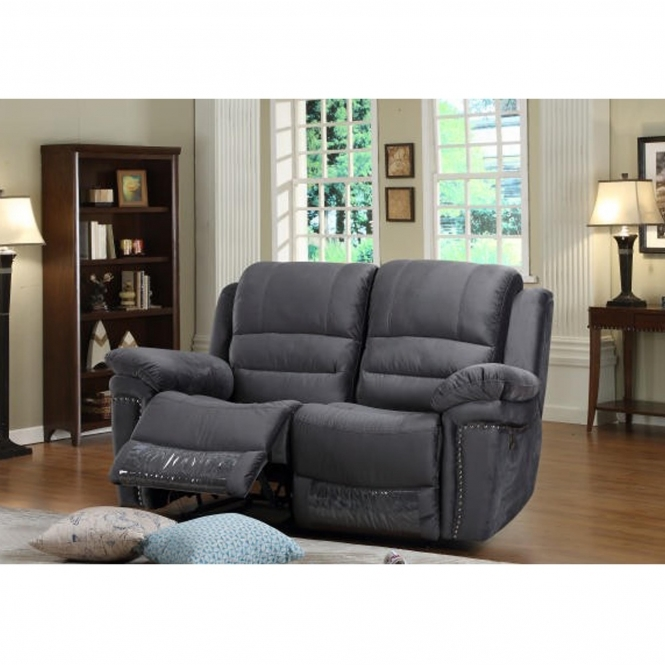 Claton 2 Seater Grey Sofa
