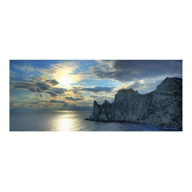 Coastal View Canvas Art