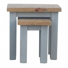 Colorado Shabby Chic Nesting Side Tables