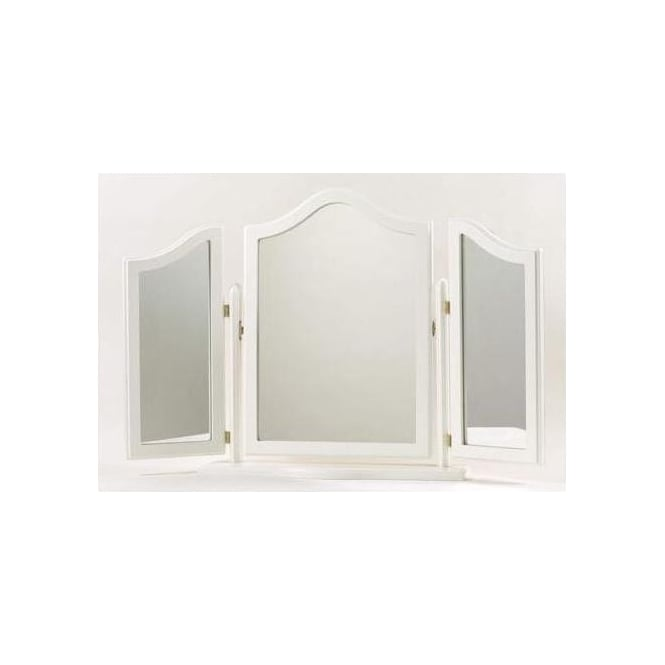 Columbus Antique French Style Triple Mirror