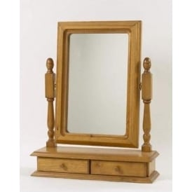 Comfrey Antique French Style Table Mirror