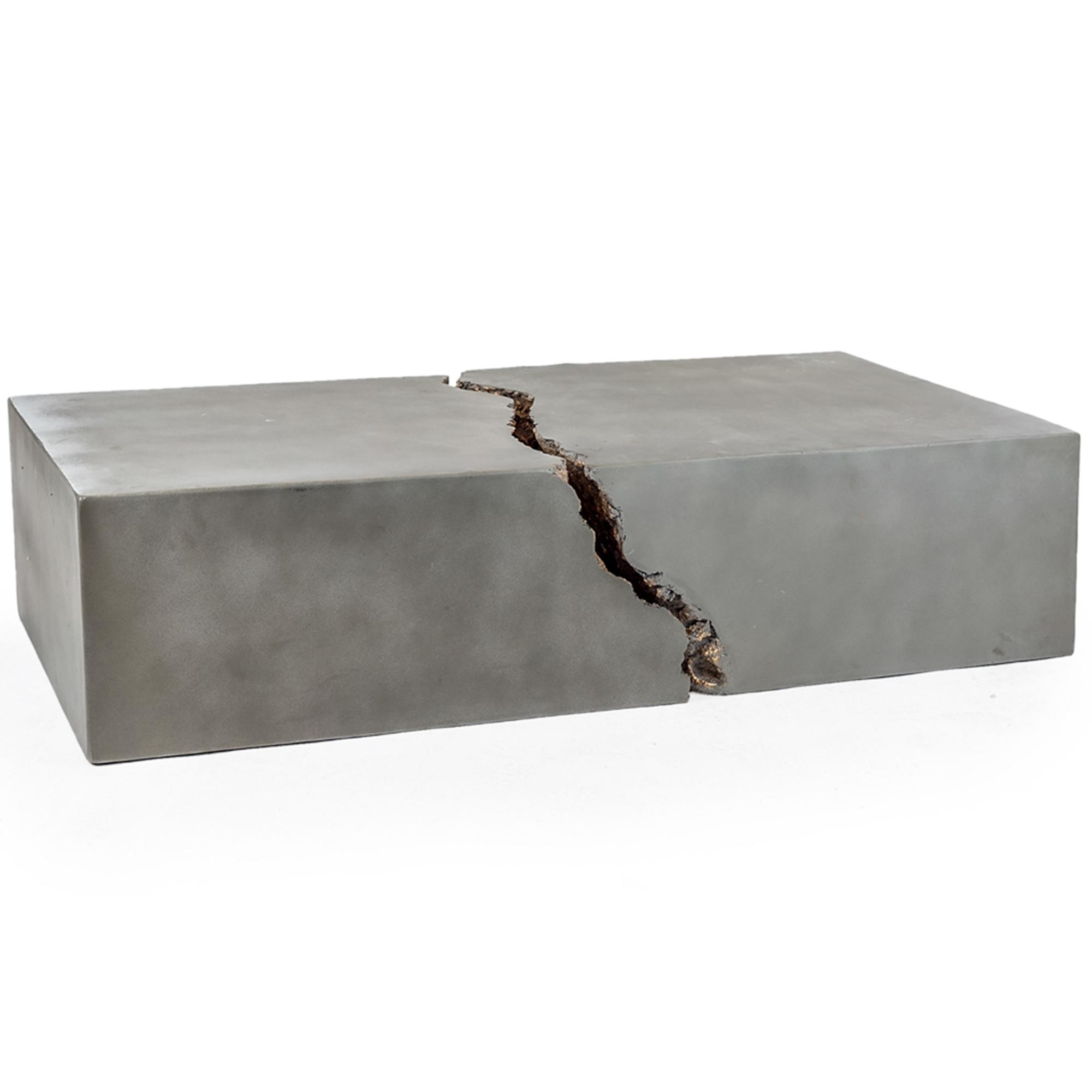 Concrete Core 2 Piece Coffee Table