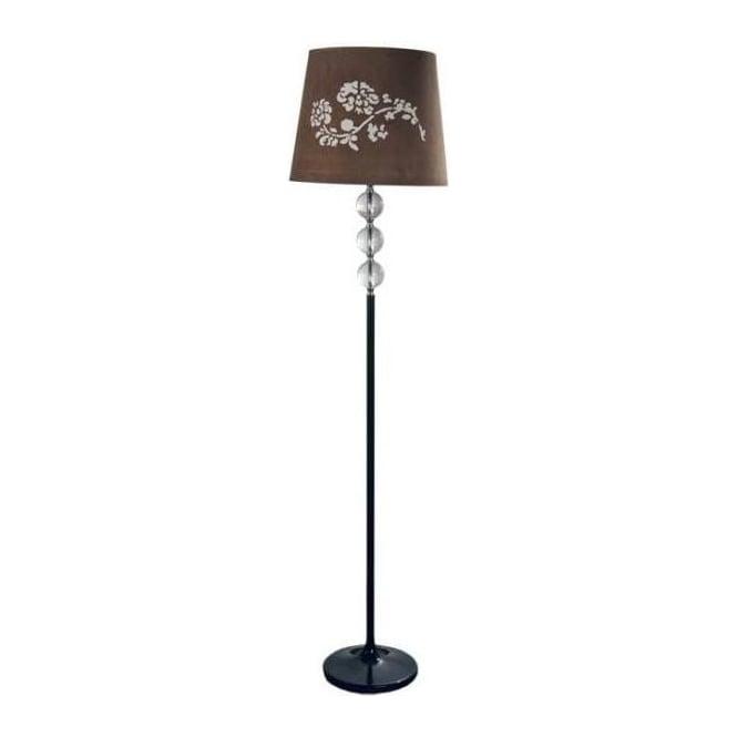 Contemporary Floor Lamp & Shade