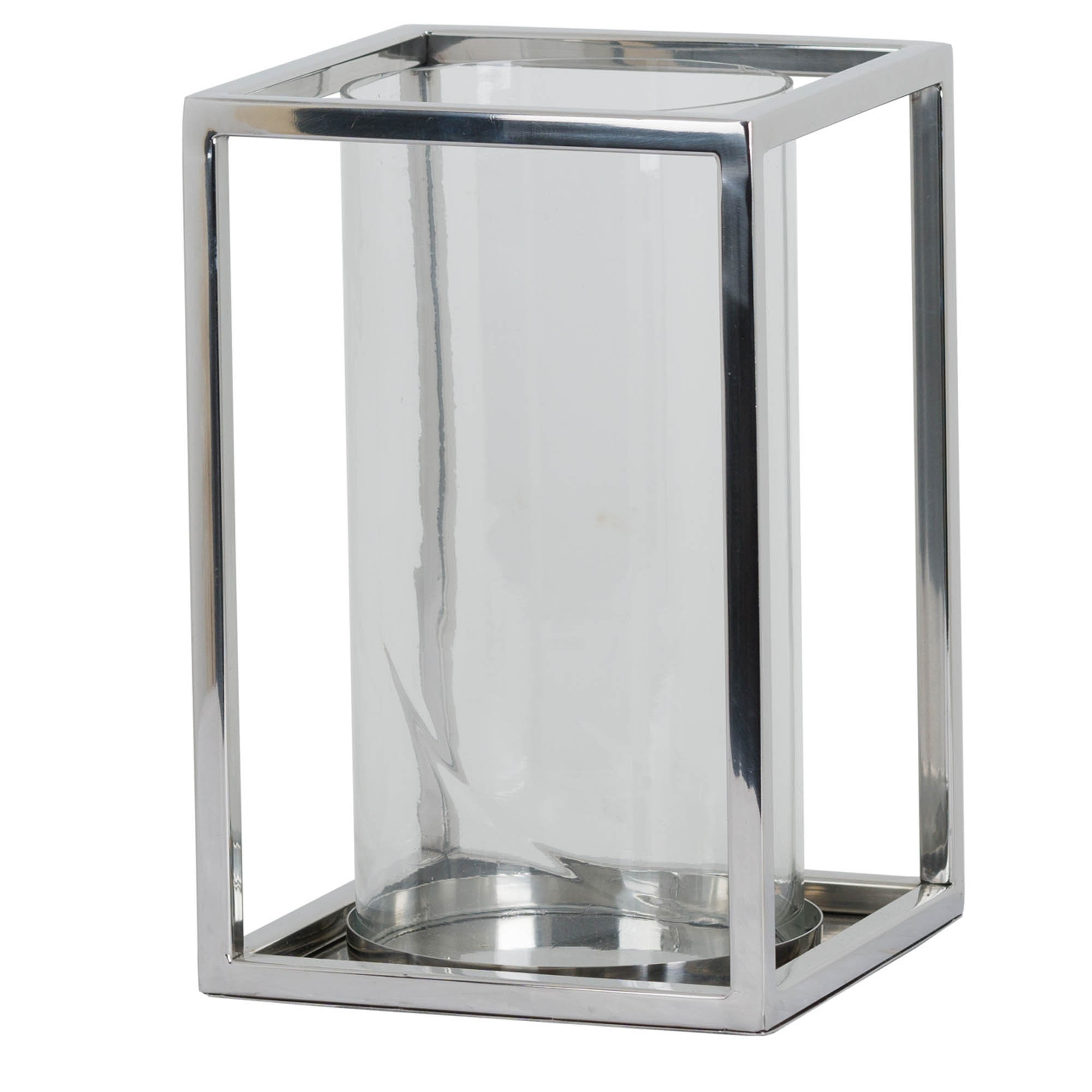 Contemporary Square Design Candle Holder Square Candle Holder