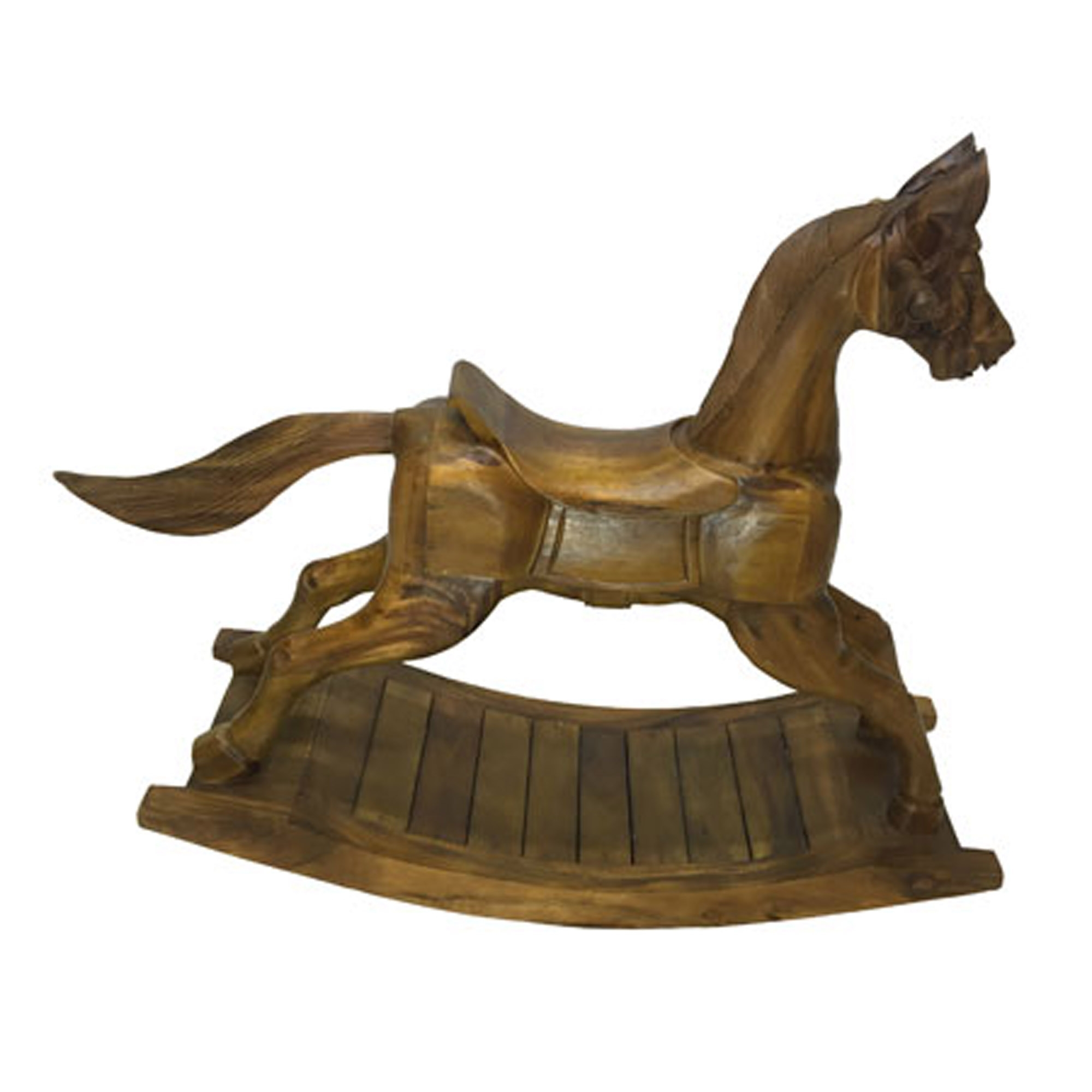 Contemporary Wooden Rocking Horse