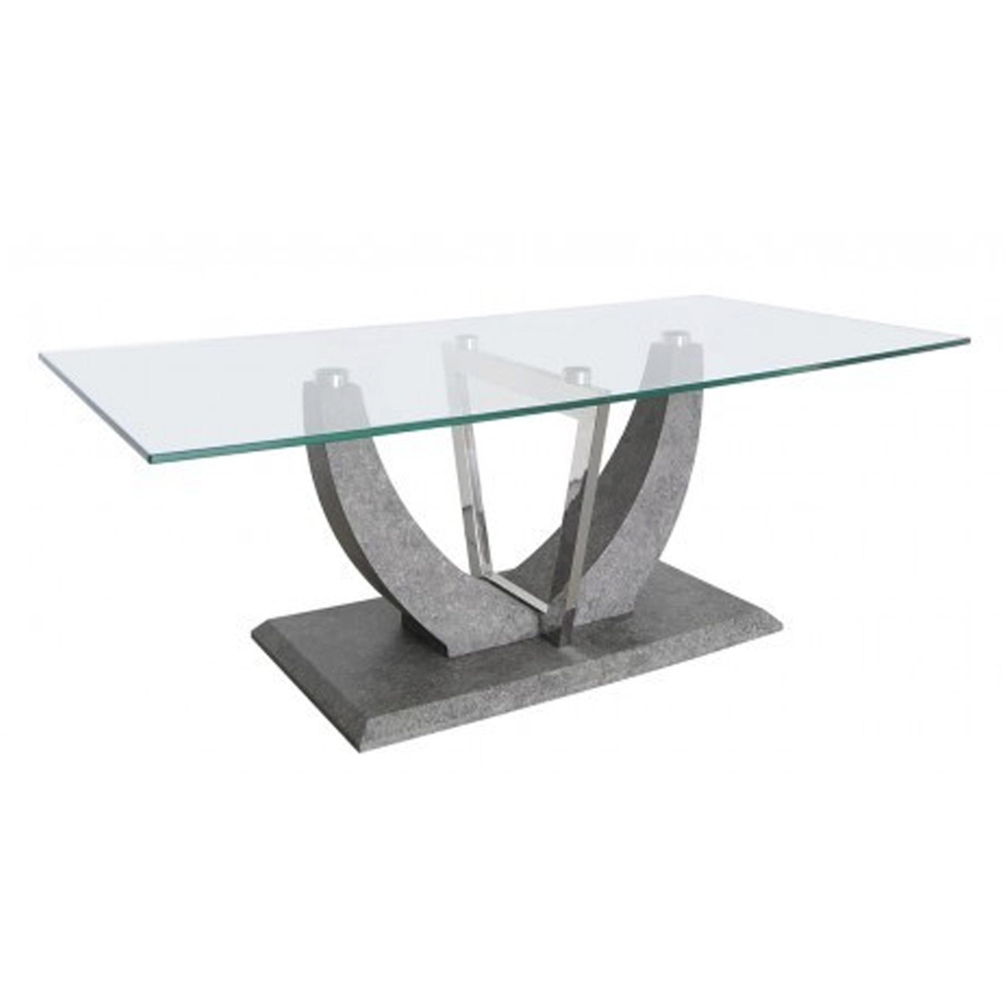 Pleasing Conway Light Grey Glass Coffee Table Cjindustries Chair Design For Home Cjindustriesco