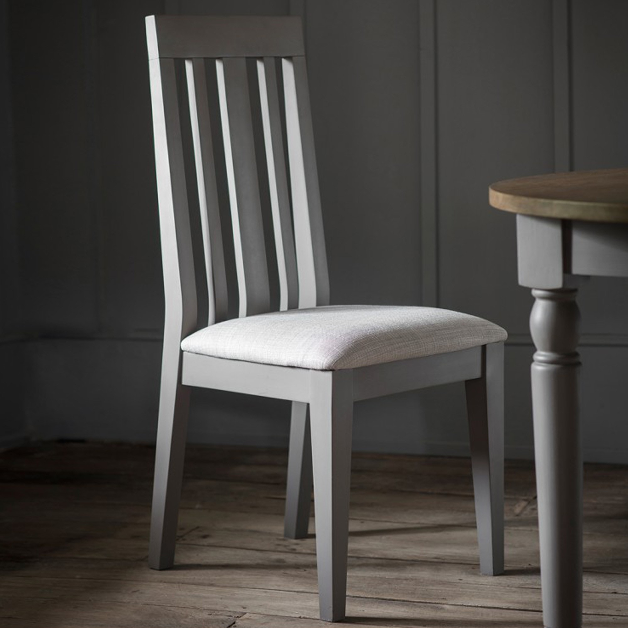 Cookham Dining Chair Grey 2pk