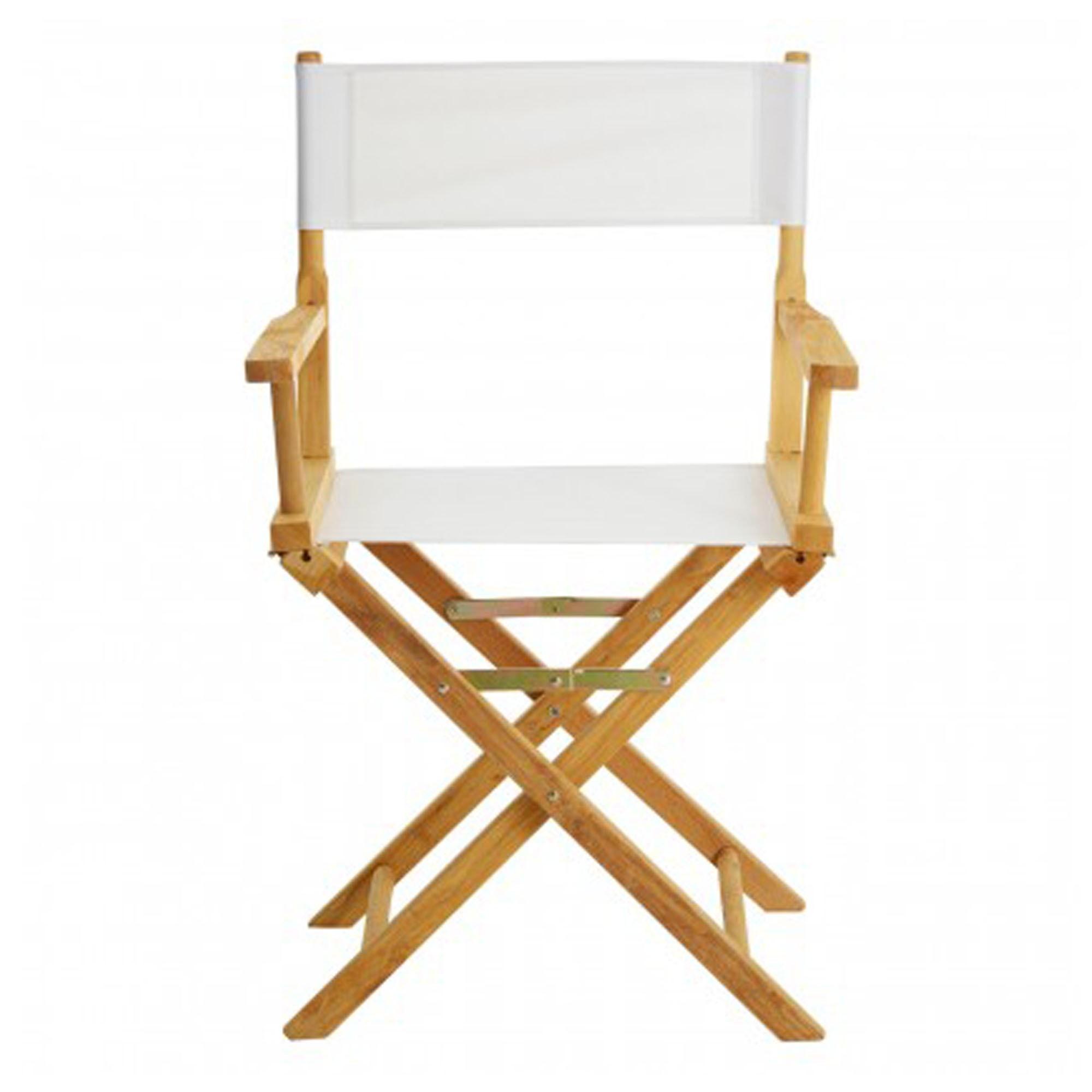 Coppola White Directors Chair Modern Furniture Lounge