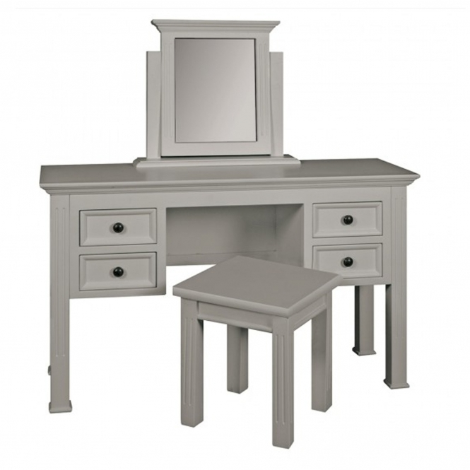 Cottage Shabby Chic Dressing Table and Stool