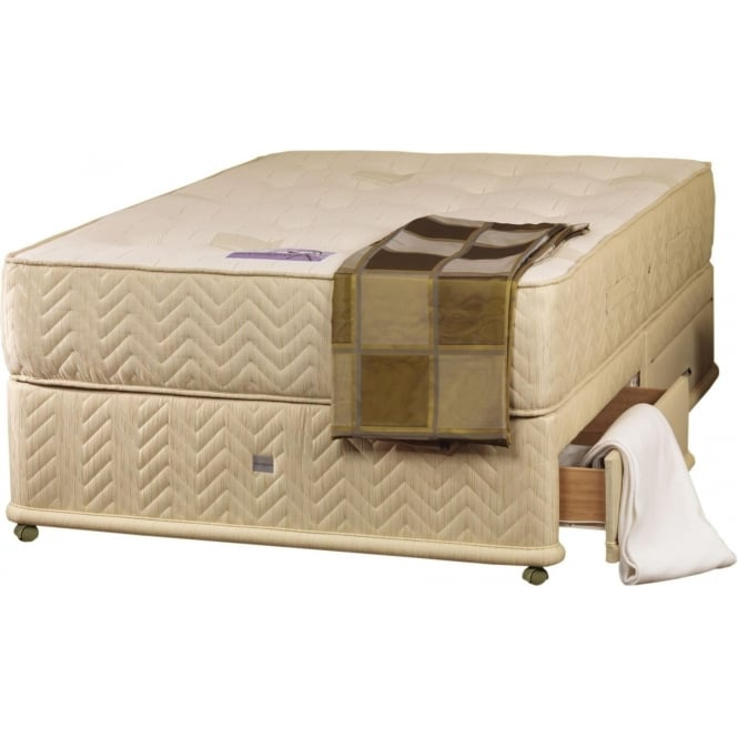 Cotton Pure Divan Base & Mattress