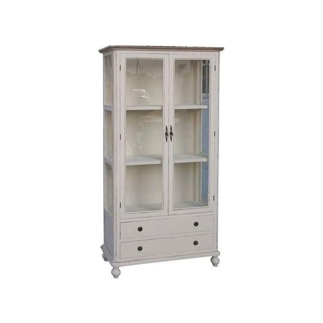 Country Antique French Style Bookcase
