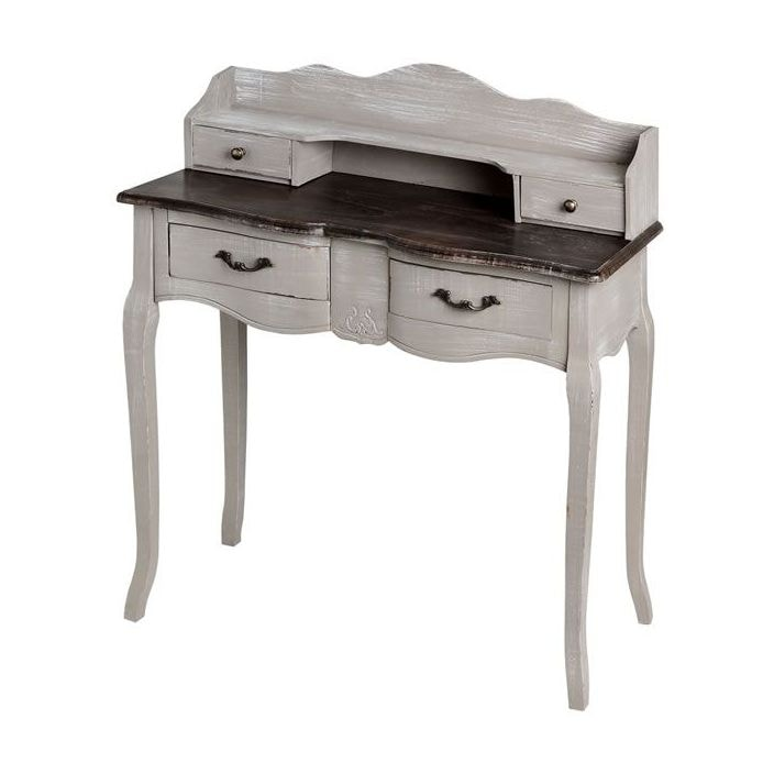 - Old Country Antique French Writing Desk