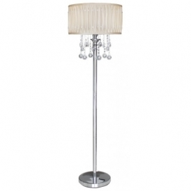 Cream Floorstanding Lamp
