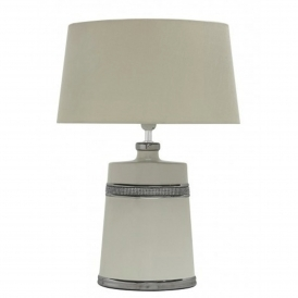 Cream Modern Table Lamp