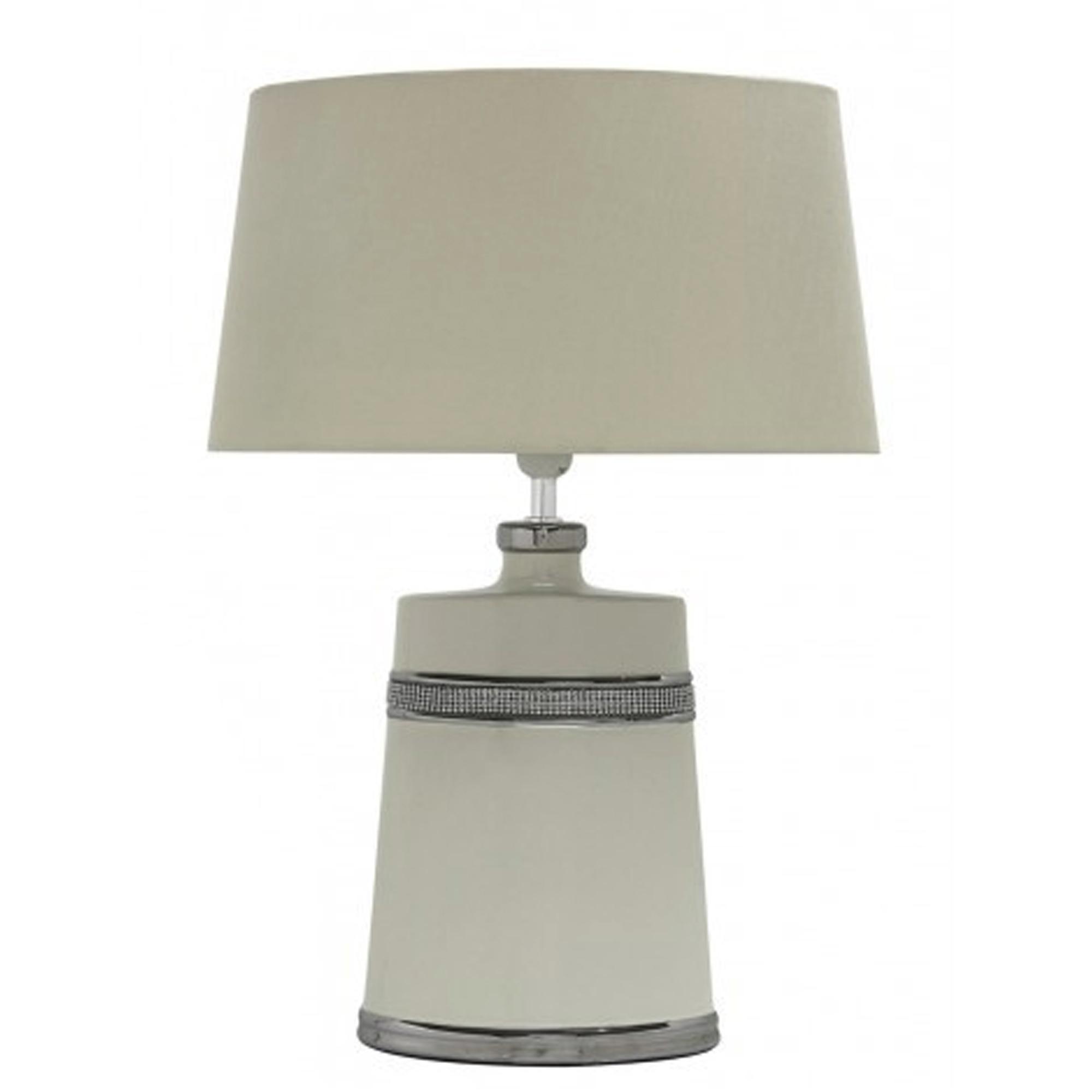 Cream modern table lamp table lamps cream modern table lamp aloadofball Choice Image