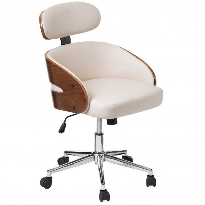 sc 1 st  HomesDirect365 & Cream Office Chair | Modern u0026 Contemporary Furniture
