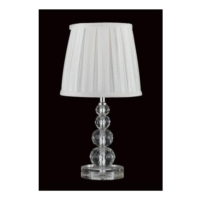 Cream Optical Crystal Lamp