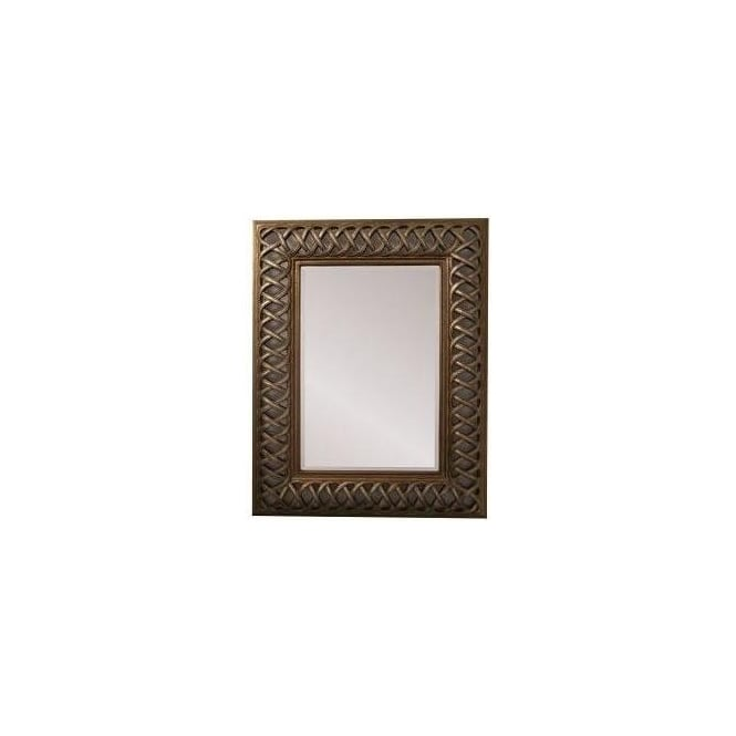 Cross Stitch Framed Mirror